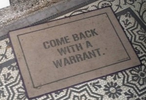 Search Warrant Required