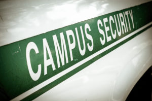 University Police patrolling for underage drinking